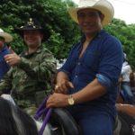 Cabalgata en Aguazul: dos mil jinetes de a caballo