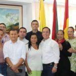 Leonardo Puentes nombró su gabinete de confianza