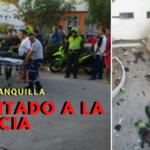 Lanzan granada en estación de Policía en Barranquilla: al menos ocho muertos