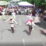 Las danzas pusieron ritmo y alegría al Festival del Arroz