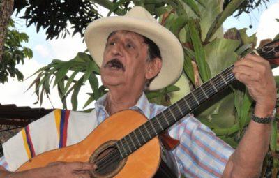 El maestro Rodrigo Silva integró el afamado y reconocido dueto de música colombiana Silva y Villalba. Foto: Juan Carlos Escobar
