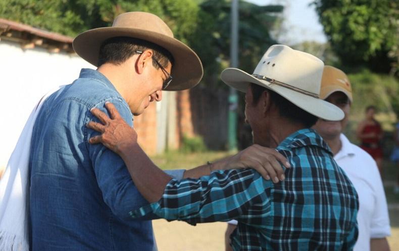 Las Guamas, El Totumo y Las Chapas se unieron a la campaña ganadora