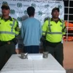 Capturado hombre por cargar ¼ de libra de marihuana