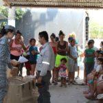 GACAS realizó donaciones al barrio la Esmeralda en Yopal