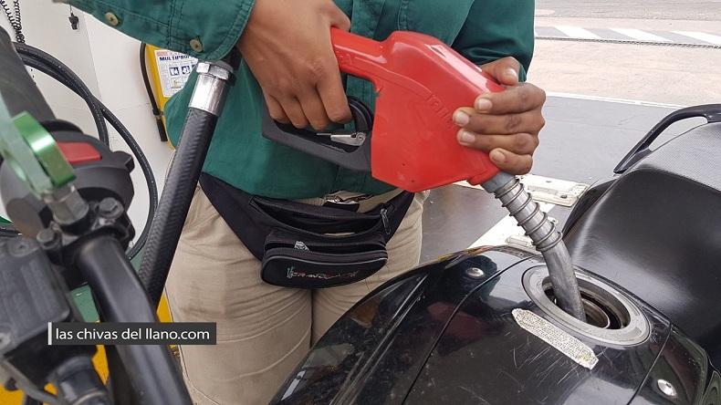Foto gasolinera, Las Chivas del Llano