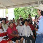 Amanda González propone buscar alternativas para comunicación vial con el centro del país.