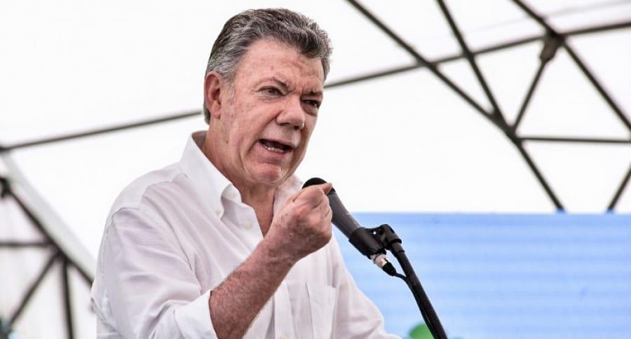 Juan Manuel Santos | AFP