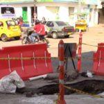 Cierres viales por obras de alcantarillado en Yopal