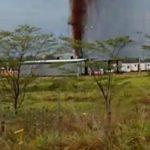 Controlada la emergencia por explosión en el pozo petrolero La Casona