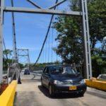 Dueña de predio no permite paso en un puente sobre río Charte