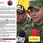 """""""No se  ha comprobado veracidad de panfleto atribuido al ELN"""": Ejército"""