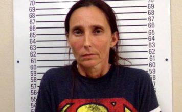 Patricia Ann Spann (foto) también se había casado y divorciado de su hijo. | Stephens County Jail