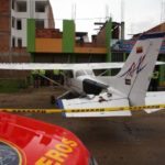 Suspenden licencia a piloto que aterrizó avioneta en vía Bogotá-Tunja