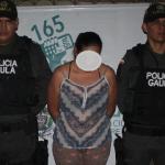 """Extorsionó a nombre de alias """"Garbanzo"""" y la capturaron"""