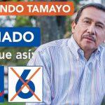 Falleció el senador conservador Fernando Tamayo