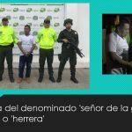 """Capturado el mayor traficante de armas del """"Clan del Golfo"""" y enlace de  """"Los Pelusos"""" y ELN"""
