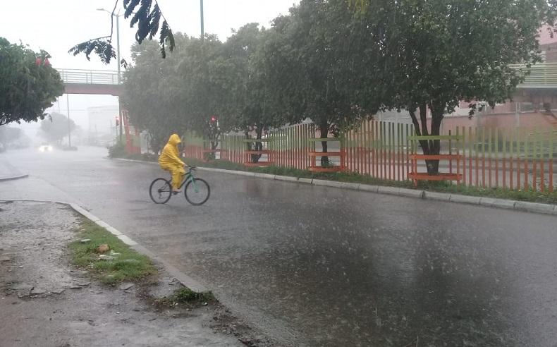 Lluvia en el municipio de Yopal