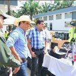 Equipos de seguridad por $1000 millones entregó el Gobernador