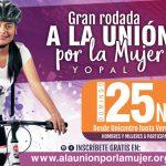 Este 25 noviembre,  gran rodada a launión por la Mujer en Casanare
