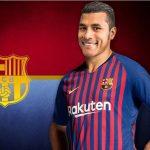 Jeison Murillo es presentado oficialmente por el Barcelona