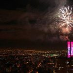 Torre Colpatria enciende la Navidad