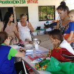 Indígenas Nasa de Yopal recibieron brigada de salud
